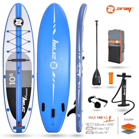 Paddle gonflable : SUP Zray A2 ATOLL PRO 10'6