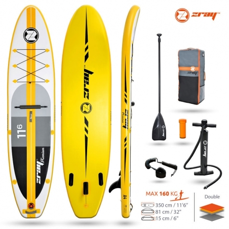 Paddle gonflable : SUP Zray A4 ATOLL EPIC 11'6