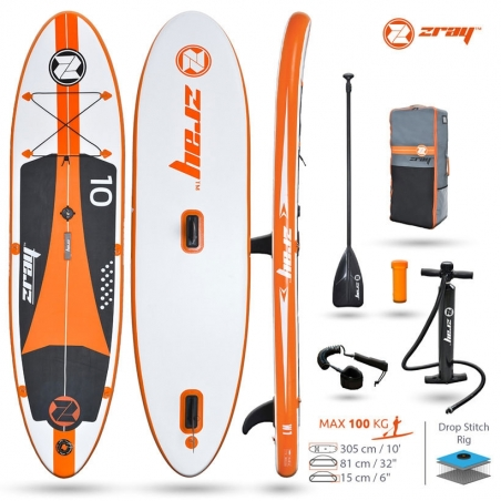 Paddle gonflable : SUP Zray W1