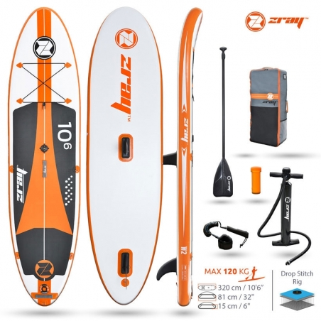 Paddle gonflable : SUP Zray W2