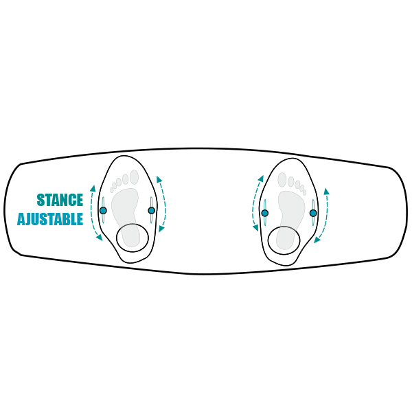 Stance Ajustable Spinera