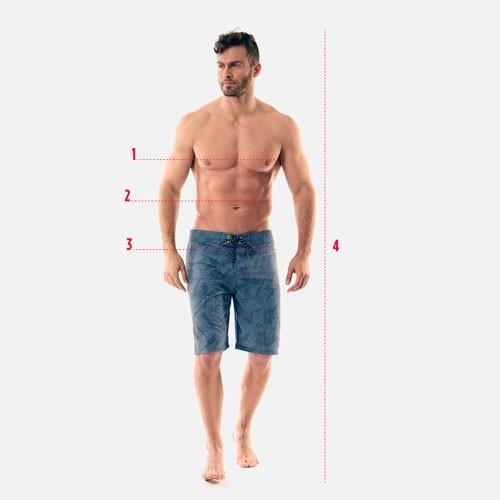 Guide des tailles Homme